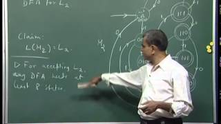 Mod-01 Lec-05 DFAs solve set membership problems in linear time, pumping lemma.