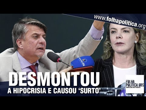 Deputado Boca desmonta hipocrisia de Gleisi Hoffmann e causa 'surto' em petistas - Sergio Moro