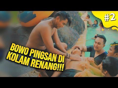BOWO PINGSAN DI DALAM KOLAM RENANG!!! - VLOG INDONESIA #2
