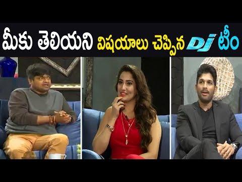 Allu Arjun Special Interview | Duvvada Jagannadham | Harish Shankar | Pooja Hegde | Cinema Politics