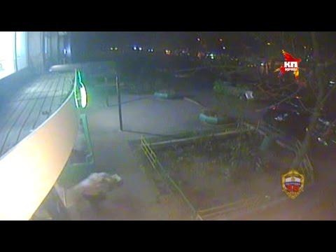 Вооруженные налетчики в Москве ограбили «Сбербанк» / Bank Robbery In Moscow