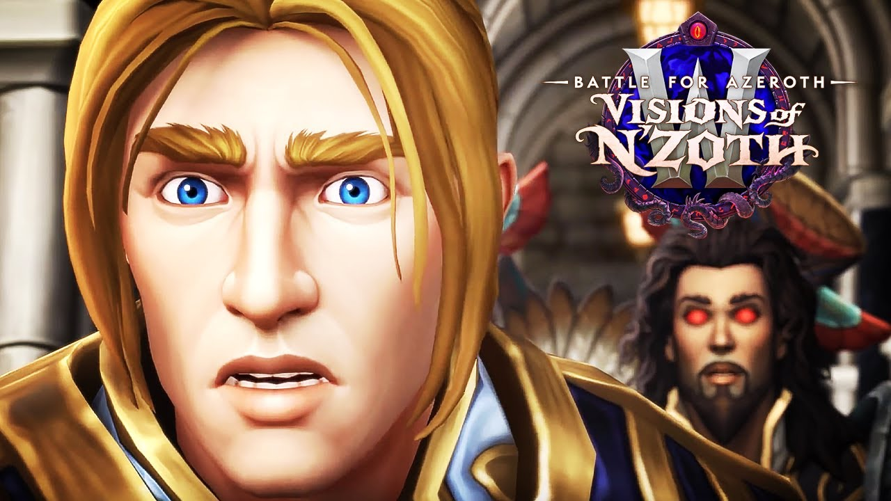 World of Warcraft - Official Cinematic Intro Trailer   Visions of N'Zoth thumbnail