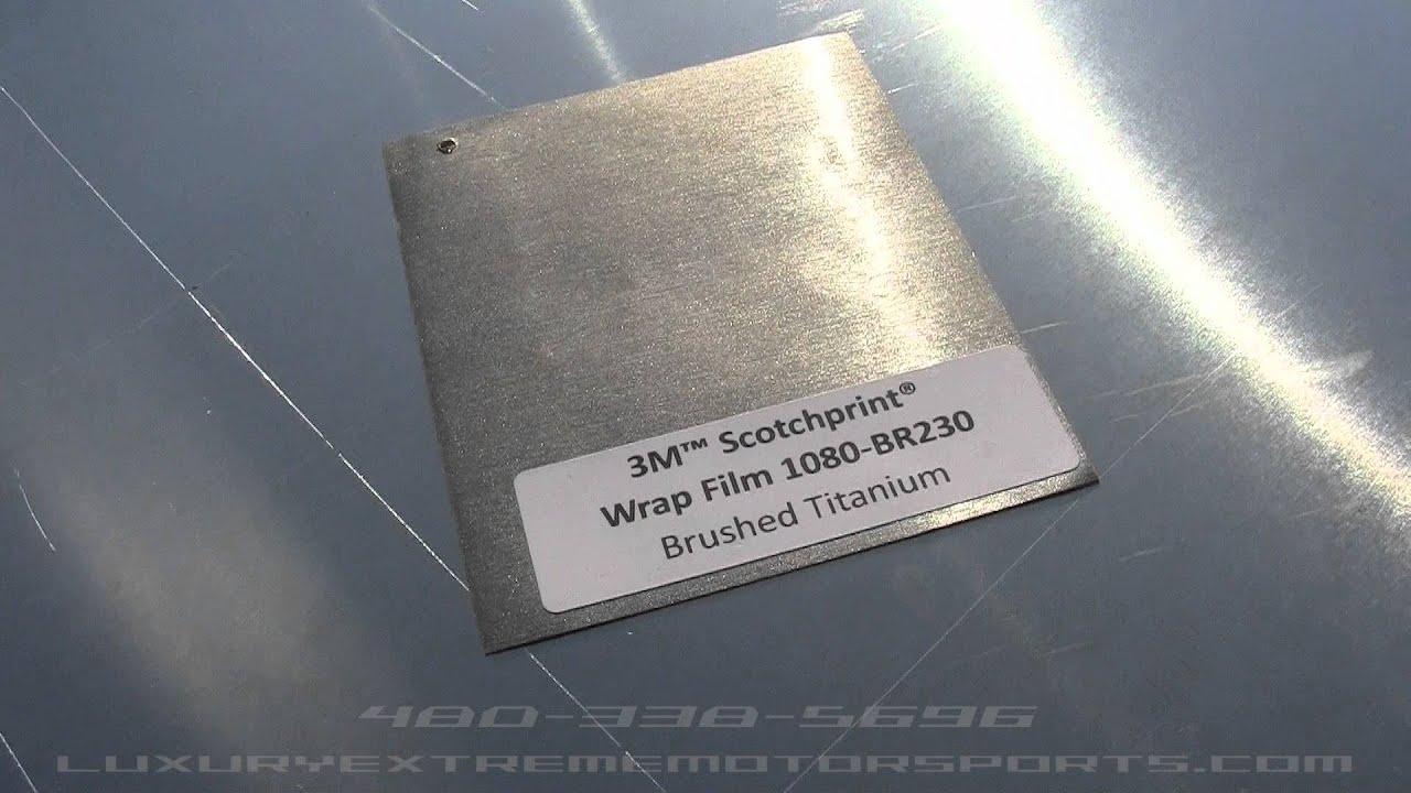 Brushed Titanium Vinyl Youtube
