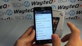 LG Optimus F6 Android bemutató videó
