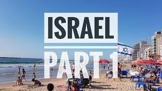 TEL AVIV + NAZARETH [ISRAEL] - Travel Vlog!