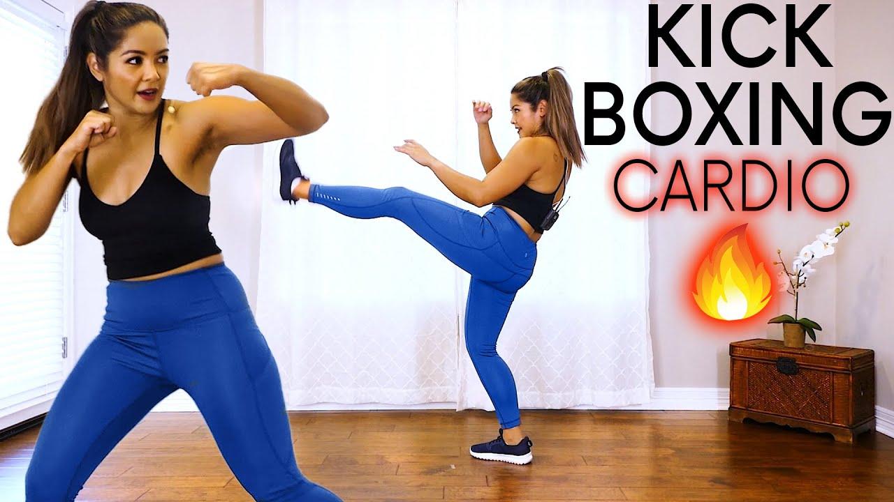 KickBoxing Cardio 🔥 Full Body Workout, Burn Calories & Lose Fat HIIT