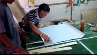 Cara Memasang HPL PVC Pada Furniture 3