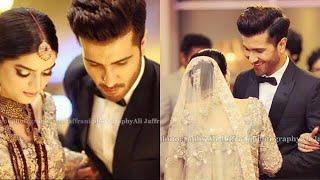 Feroze khan Wife Alize Fatima Walima Pics Leak | Feroze Khan Walima Barat Ceremony