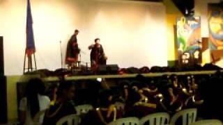 Repeat youtube video Speech Choir Faustus O, Faustus