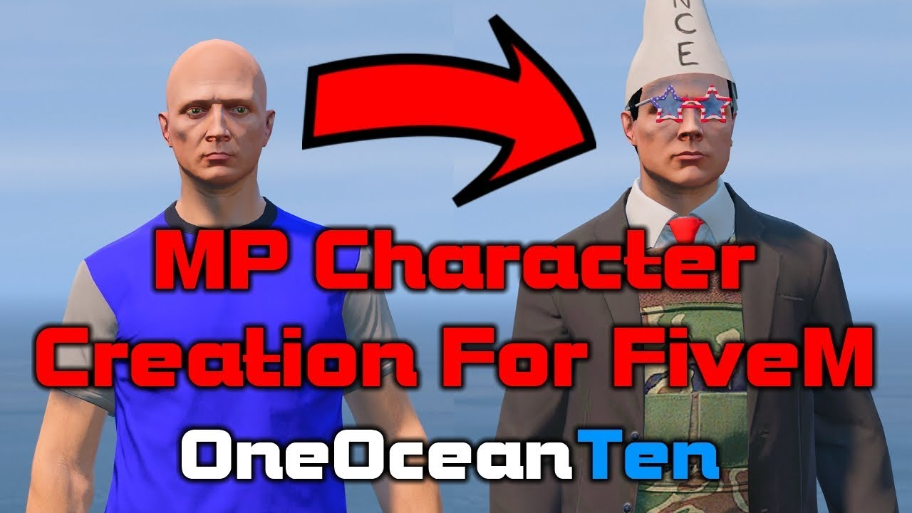 How To Make a Multiplayer Character for FiveM (GTA V) | OneOceanTutorial