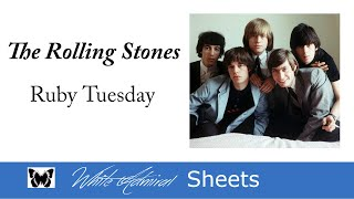 Ruby Tuesday - The Rolling Stones (Piano Solo)