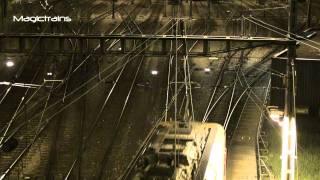 Rangieuor nuit - Güterzugankunft mit Re 8/8
