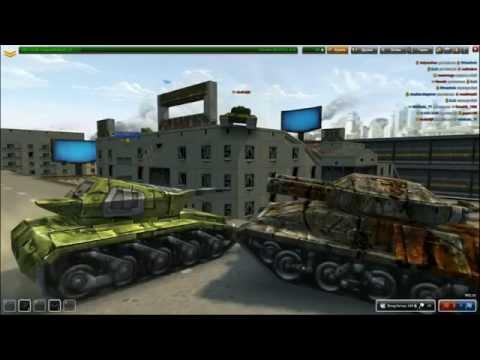 ч.01 Обзор игры Танки онлайн от Миникотика
