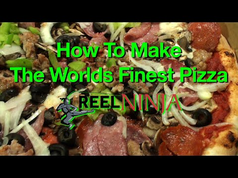 The Worlds Best Pizza Recipe - And Contest