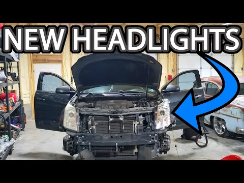 How To Replace Headlights Cadillac SRX