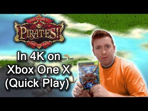 Sid Meier's Pirates (Original Xbox) - Xbox One X 4k Enhanced - Quick Play