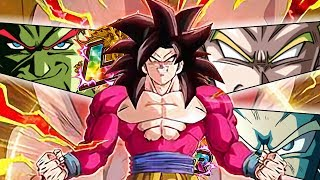 LR TEAM FULL POWER SSJ4 GOKU!! Dragon Ball Z Dokkan Battle ITA