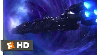 Starship Troopers: Invasion (2012) - Wormhole War Scene (5/10) | Movieclips