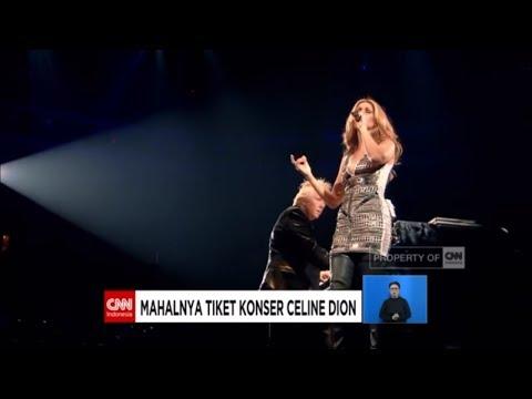 Wow! Mahalnya Harga Tiket Konser Celine Dion