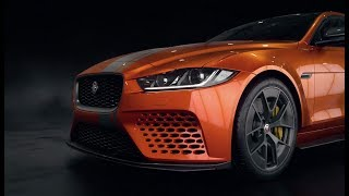 Jaguar XE SV Project 8 - promo video