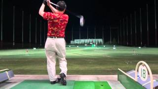 ゴルフスイング オヤジ打ち ドライバーショット 2014-05-03