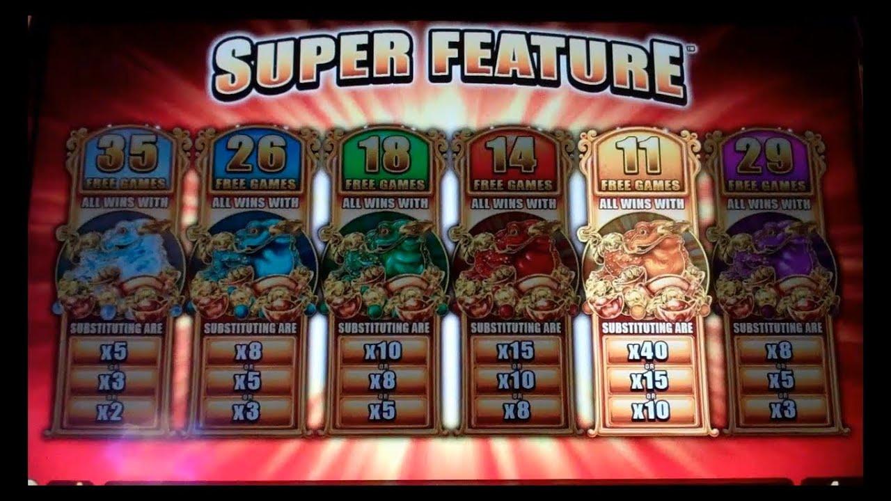 Super Feature Slot Machine