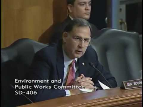 Boozman Statement at Environment and Public Works Committee Hearing on Ports