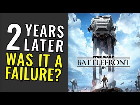 Star Wars Battlefront (2015) Two Years Later - Was it a Failure?
