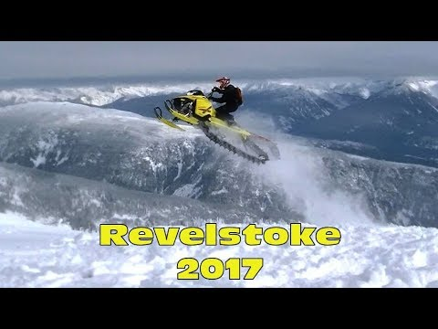 Revelstoke 2017 - Sledding Boulder Mountain & Frisby Ridge