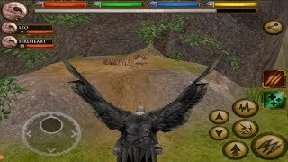 Furious Vulture VS Angry Tiger and Gorilla Boss Fight, Ultimate Savanna Simulator