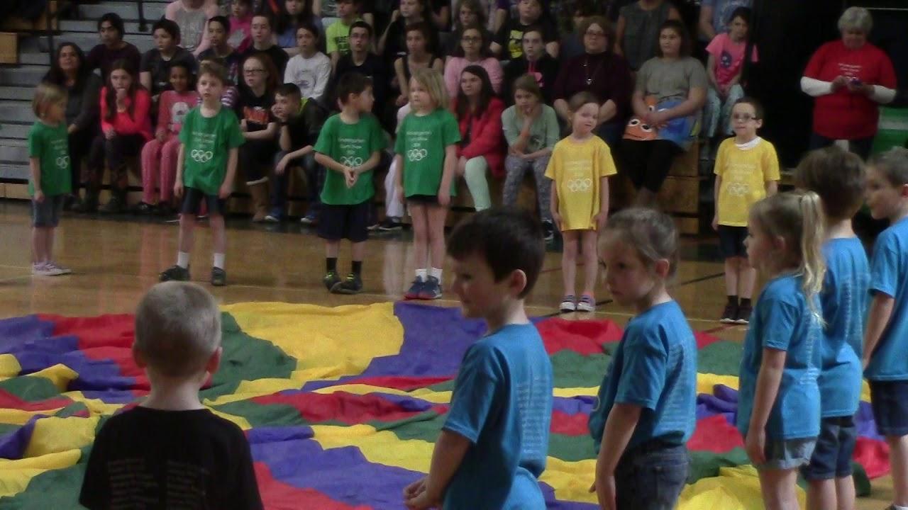CCRS Kindergarten Gym Show  3-30-18