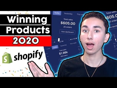 EASIEST Method To Finding Winning Products In 2020 | Winning Dropshipping Products Revealed thumbnail