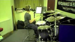 Oscar Ogden supa funk, Craig Blundell Play along CD challenge .m4v
