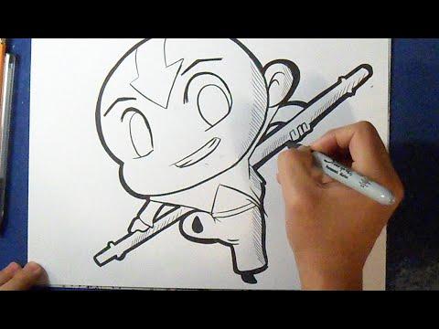 Como Desenhar O Avatar Anime Youtube