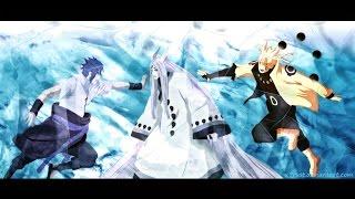 Все крутые моменты из Кагуя против Наруто и Саске - Naruto vs Sasuke AMV