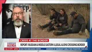 Jonathan T Gilliam on Newsmax discussing the national security side of the southern border crisis.