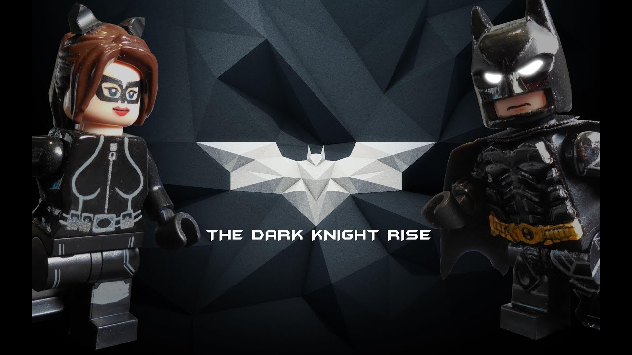 Lego batman the dark knight rise minifigures showcase youtube