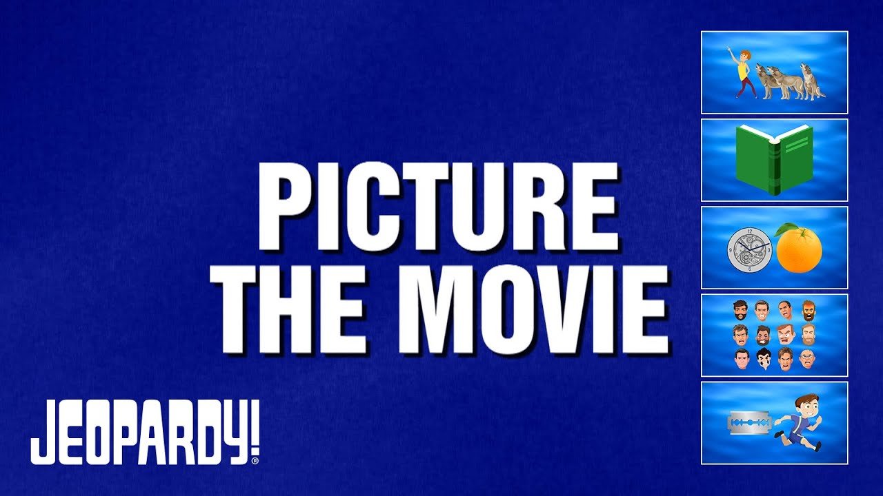Picture the Movie | JEOPARDY!