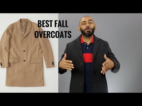 Top 10 Best Affordable Men's Overcoats/Best Men's Fall Topcoats