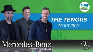 The Tenors on Getting Kicked Out of a Taxi | Elvis Duran Show