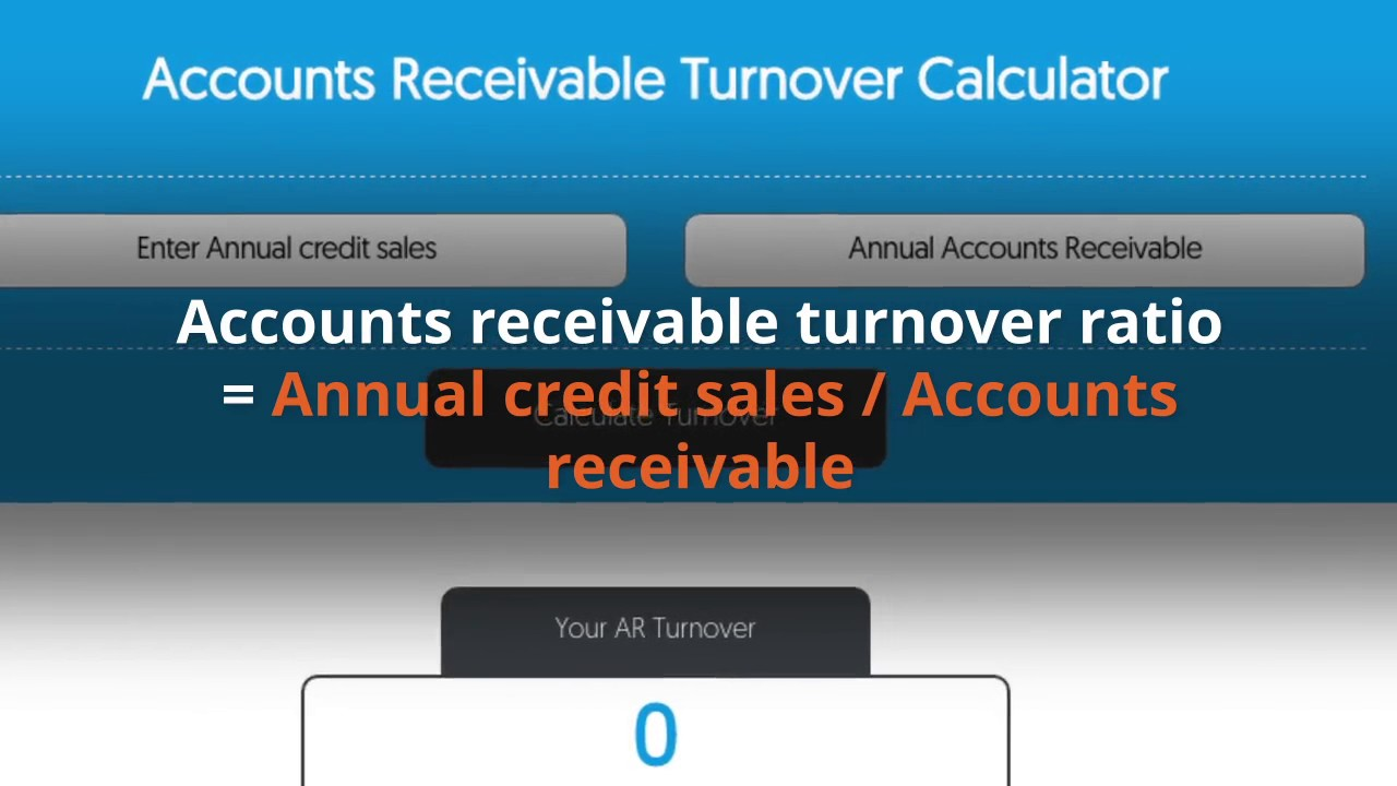 Accounts receivable turnover ratio. How to interpret and improve ...