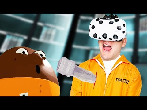 Pointy Metal Things! - Prison Boss VR Gameplay - VR HTC Vive
