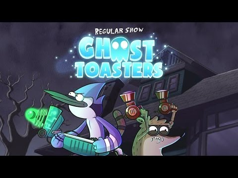 Official Ghost Toasters - Regular Show Launch Trailer