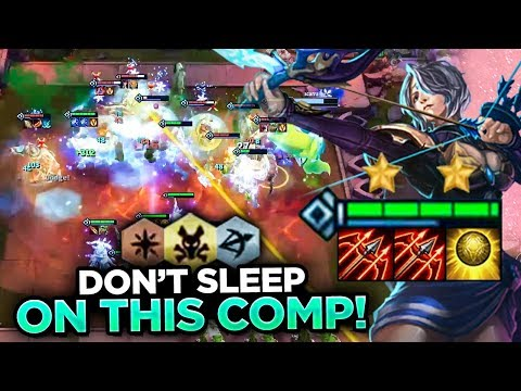 RANGERS WITH TARIC! DON'T SLEEP ON THIS COMP! | Teamfight Tactics