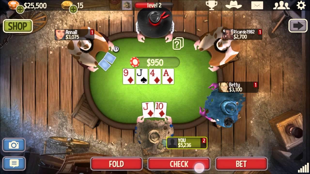 Governor of Poker 3 mobile game image
