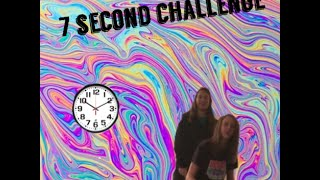 7 SECOND CHALLENGE - Haley & Shelby