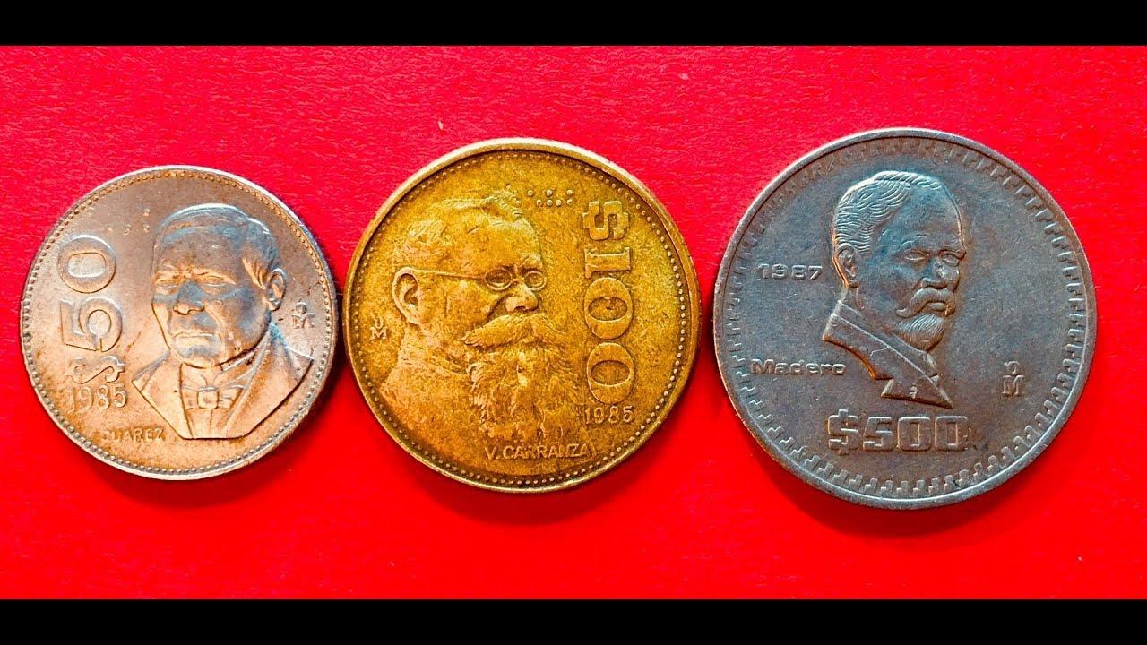 Mexico 50 100 500 Pesos 1985 1987 Any Value Here