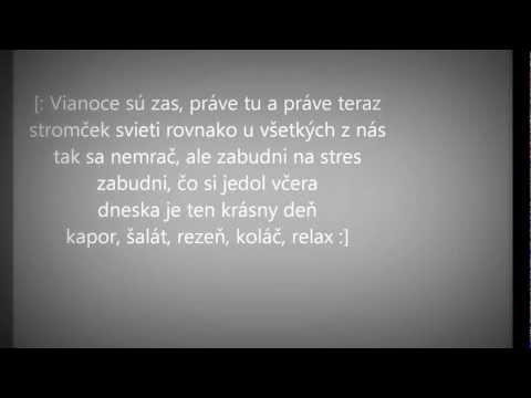 "Robert ""Ego"" Burian [Expres]- Vianoce su zas - Text[Karaoke]"