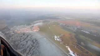 gliding above chanctonbury ring