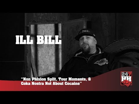 Ill Bill - Non Phixion Split, Tour Moments, Coka Nostra Not About Cocaine (247HH Archives)